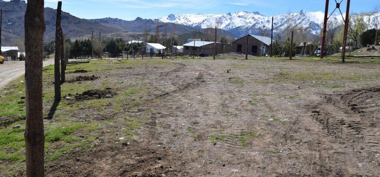Huerta comunitaria en Andacollo