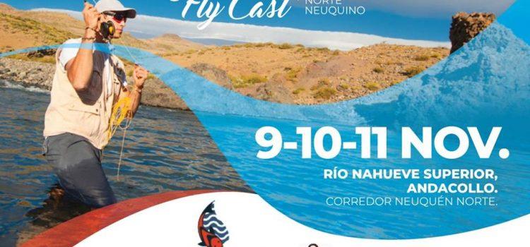 Fly Cast del Norte Neuquino en Andacollo.